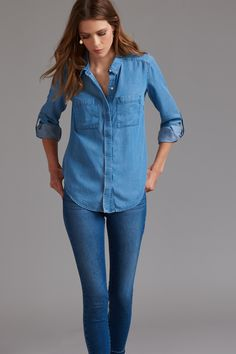 Looking for a chic and easy-going top to go with any style and any outfit? You've come to the right blouse.