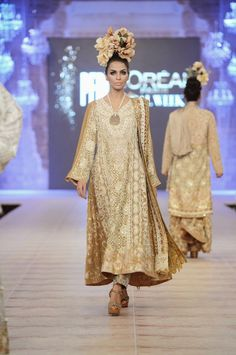Shamaeel Ansari -  Pakistan Bridal Fashion Week - PLBW 2014