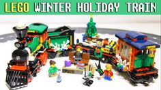 ❄️ 🎄 Winter Holiday Train 🚂 LEGO Creator Expert Set 10254 Stop motion build Lego Creator, The Creator, Lego Duplo Sets, Lego Winter, Holiday Train, Frozen Sisters, Disney Princess Frozen, Lego Building, Stop Motion