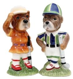 Appletree Design Who Let the Dawgs Out Golf Dog Salt and Pepper Set, 4-1/8-Inch -- To view further, visit now : Salt Pepper Shaker