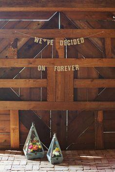 Southern wedding - barn wedding