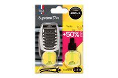 Αρωματικό αεραγωγού αυτοκινήτου Aroma Supreme DUO Vanilla 7ml+7ml δώρο Auto Accessories, Phone, Telephone, Car Accessories, Mobile Phones