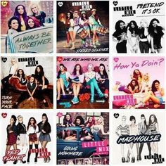 Little Mix- Songs off of their DNA album How Ya Doin, Little Mix Jesy, Cher Lloyd, Jesy Nelson, Perrie Edwards, Fandom, Second Of Summer, Fifth Harmony, Mixers