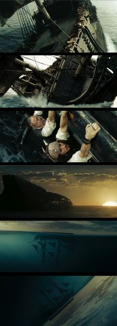 Pirates of the Caribbean: At World's End...pretty much the best part of the movie <3