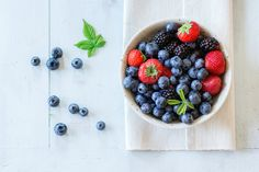 assortment of berries by Natasha Breen on @creativemarket. Price $10 #berrystockphoto #fruitstockphoto #foodstockphoto