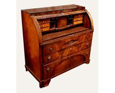 Biedermeier Cylinder top Bureau Antique furniture | antique cupboards | antique tables | antique ... www.antiquarium.eu -