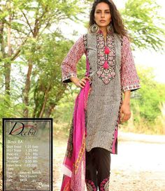 Deeba Summer Lawn Collection 2015 DS-8A