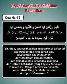 Doa hari 3 Ramadhan