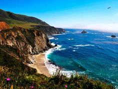 Santa Barbara CA.This not-so-crowded beach town is the perfect mix of rugged & refined. Hike along the beachfront Cabrillo Bike Path, ride the antique carousel at Chase Palm Park, & take the kids to see the elephants at the Santa Barbara Zoo. If you have time w/out children, sip your way across downtown Santa Barbara's (walkable) Urban Wine Trail. Most of the vacation rentals here have 1-3 bedrooms & rent for as low as $116/night.
