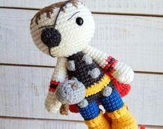 Amigurumi Örgü Oyuncak Superman Bebek - Oyuncak 291537 | zet.com | 187x235