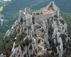Château de Puilaurens. Roussillon