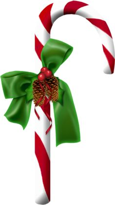 Candy Cane Clip Art With Pine Cones Candy Cane Pine Cones Christmas Cards