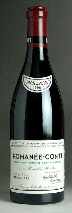 Romanee Conti - currently in huge demand in China