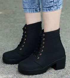 Boots Women-boots Material: Synthetic Sole Material: PU Pattern: Solid Multipack: 1 Sizes:  IND-7 IND-6 IND-8 IND-5 IND-4 Country of Origin: India Sizes Available: IND-8, IND-4, IND-5, IND-6, IND-7   Catalog Rating: ★4.3 (1522)  Catalog Name: Casual Latest Women Boots CatalogID_1767339 C75-SC1065 Code: 285-9921283-946