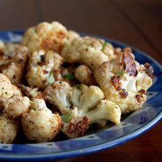 Balsamic Roasted Cauliflower- this is my favorite way to cook cauliflower.