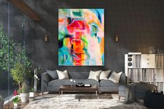 Large Abstract wall art,Original Abstract wall art,large art on canvas,xl abstract painting,abstract wall art Large Abstract Wall Art, Large Painting, Painting Canvas, Textured Painting, Knife Painting, Office Wall Art, Home Decor Wall Art, Art Decor, Bedroom Decor