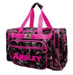 ef8a69d3065e Monogram Pink Camo Duffle Bag