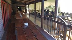 Upstairs Deck Area, Breede River Rafting
