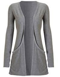 Long Sleeve Jersey Cardigan w Pockets Light Grey Short Sleeve Cardigan, Grey Cardigan, Long Sleeve, Cheap Designer Clothes, Comfy Casual, Wholesale Fashion, London Fashion, Lounge Wear, My Style