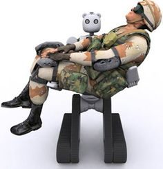 The BEAR: Battlefield Extraction-Assist Robot™