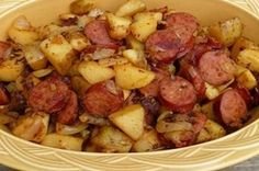 Fried Potatoes and Kielbasa - Page 2 of 2 - Cool Home Recipes