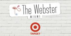 The Webster x Target logo