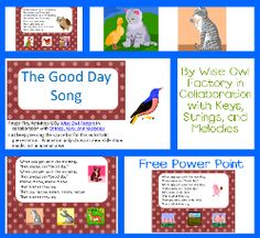 the-good-day-song-Power-Point-photo-collage-sm