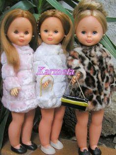Nostalgia por Nancy de Famosa: ARMARIO: Abrigos y Gabardina Nostalgia, Pram Toys, Nancy Doll, Legos, Baby, Vintage, Barbie Dress, Templates, Vestidos