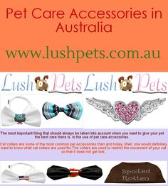 To buy cat collars online in Australia, it is important to note that different types exist. This is with regard to variety. Colours, materials and sizes are all but about variety and it goes without saying that when it comes to variety of cat collars. http://www.lushpets.com.au/