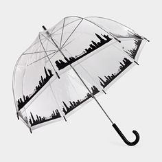 I WANT! New York Skyline Bubble Umbrella