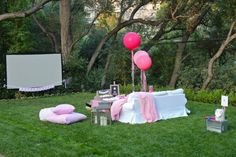 Under the Stars Tween / Teen Girl Birthday Party via Karas Party Ideas Teen Girl Birthday, Birthday Star, 13th Birthday Parties, Birthday Ideas, 12th Birthday, Birthday Nails, Movie Star Party, Movie Night Party, Party Time