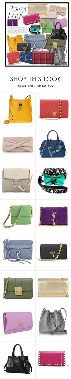 """bags"" by merima-mrahorovic ❤ liked on Polyvore featuring Hermès, Prada, Reiss, Chloé, Betsey Johnson, STELLA McCARTNEY, Yves Saint Laurent, Rebecca Minkoff, Design Inverso and ALDO"