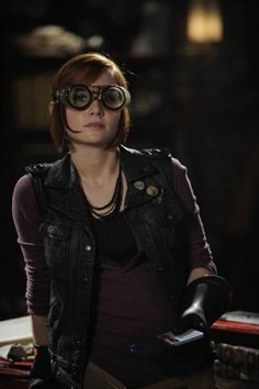 Claudia Donovan, From Syfy's Warehouse 13, Played by Allison Scagliotti