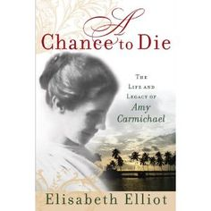 It's just wonderful, and Elizabeth Eliot wrote it, need I say more?