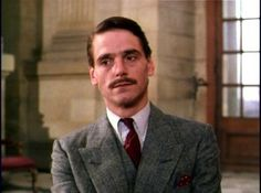 Jeremy Irons as Charles Ryder in Brideshead Revisited.
