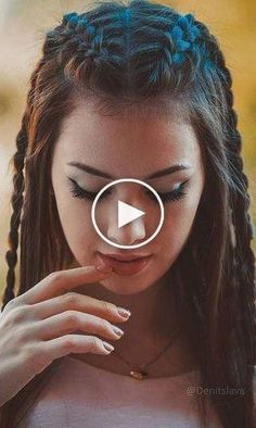The Ultimate Hairstyle Handbook Everyday Hairstyles for the Everyday Girl Braids. French Braid Hairstyles, Easy Hairstyles For Long Hair, Braids For Long Hair, Everyday Hairstyles, Medium Hair Styles, Short Hair Styles, Half Up Half Down Hair Prom, Hair Upstyles, Baddie Hairstyles