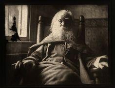 Walt Whitman photographed by Thomas Eakins