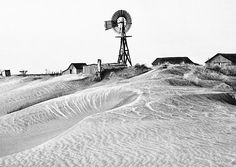 A heartbreaking photograph from the 1930s dust storms