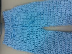 Easy to crochet baby / Infant pants