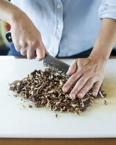 Why You Should Chop Toasted Nuts While They're Still Warm