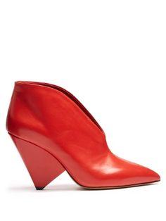 Adenn leather ankle boots | Isabel Marant | MATCHESFASHION.COM US