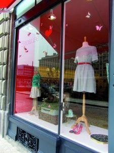'Because I Love' boutique in Switzerland; Window Display