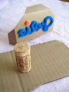 Practically Spent: Pipe Cleaner Stamp
