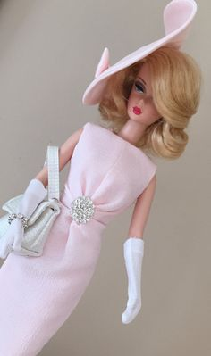 Silkstone Barbie fashion  Rhinestones and Crepe by ShhDollWorks - Sold on Etsy