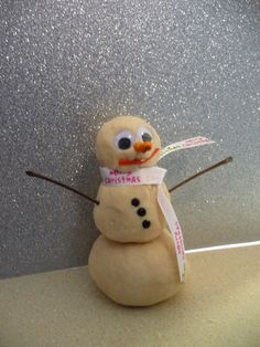 Playdough Snow Snowman holiday gifts