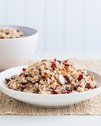 Holiday Quinoa and Cranberry Salad  Recipe on Food & Wine