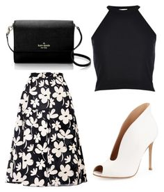 """Untitled #507"" by fiirework ❤ liked on Polyvore featuring Marni, River Island, Kate Spade and Gianvito Rossi"