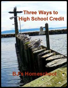 Three Ways to  High School Credit!- BJs Homeschool http://betsyhomeschoolconsulting.blogspot.com/2014/03/our-steps-to-college-giving-credit.html