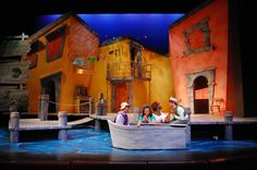 """Scenic Design for """"Scapino"""" by Eric Luchen at Purdue University"""