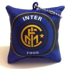 Inter Cushion Pillow Keychain